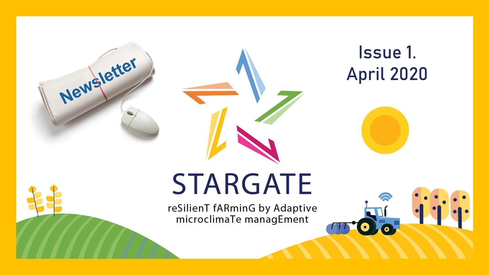 STARGATE Newsletter - Issue 1